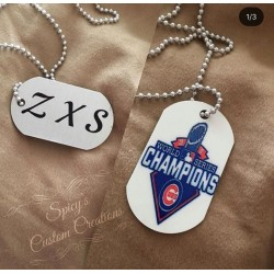 Custom Dog Tag Double Sided