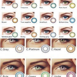 Color Contact Lens Non-Prescription