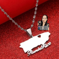 Puerto Rico Necklace Style 1