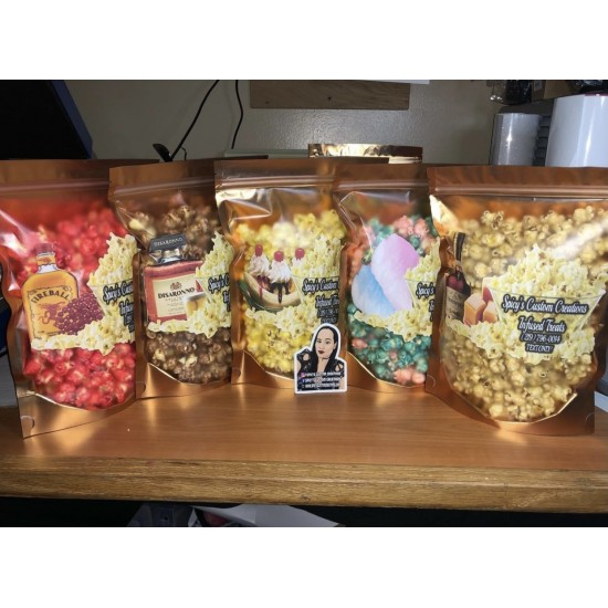 Gourmet Candied Popcorn Party Favor Size