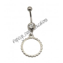 Custom Photo Belly Rings