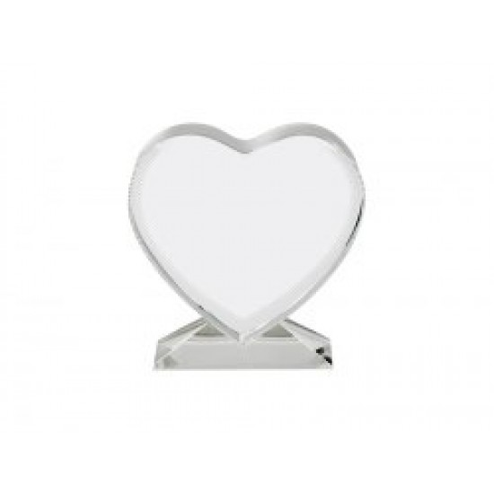 Heart Photo Crystal