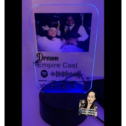 Music Plaque Night Light