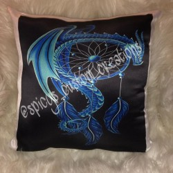 16in Custom Satin Pillow