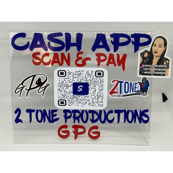 Scan & Pay Sign